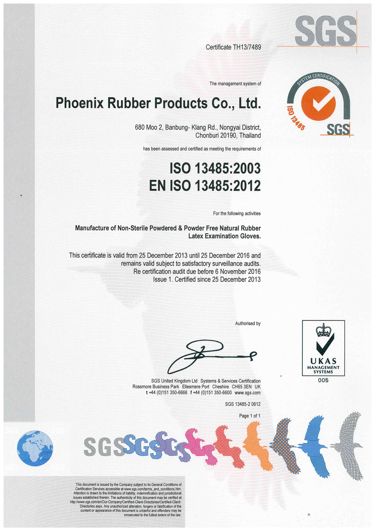 Thai rubber latex corp co ltd rubber latex examination rubber latex examination glove iso certificate yadclub Images